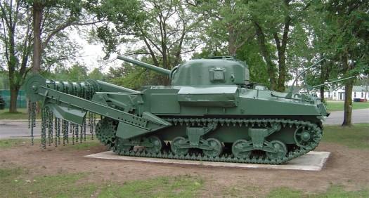 flail tank