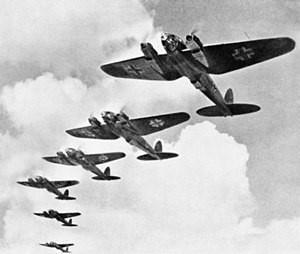 German planes