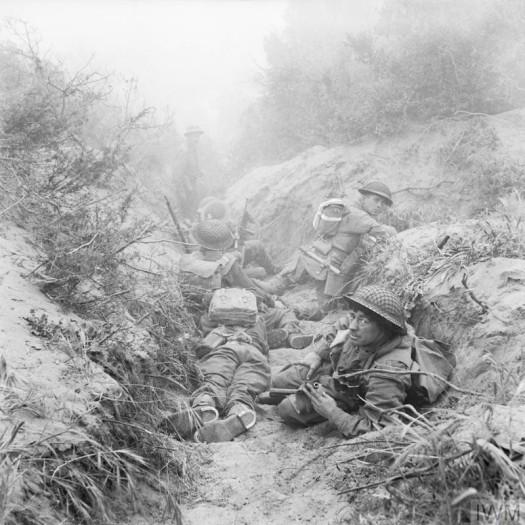 Anzio soldiers