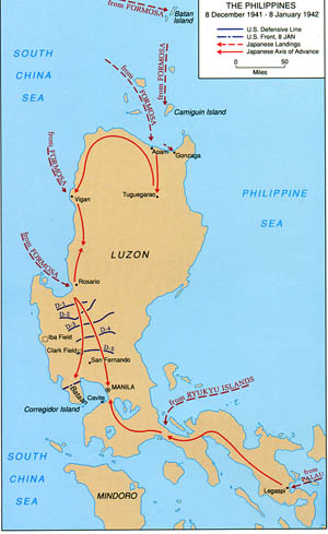 map with Luzon