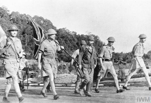 Surrender of Singapore by General Percival
