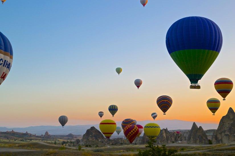 hot air balloons by daniela cuevas