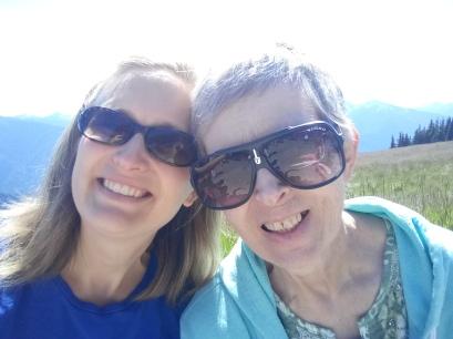 Mom and Me Hurricane ridge