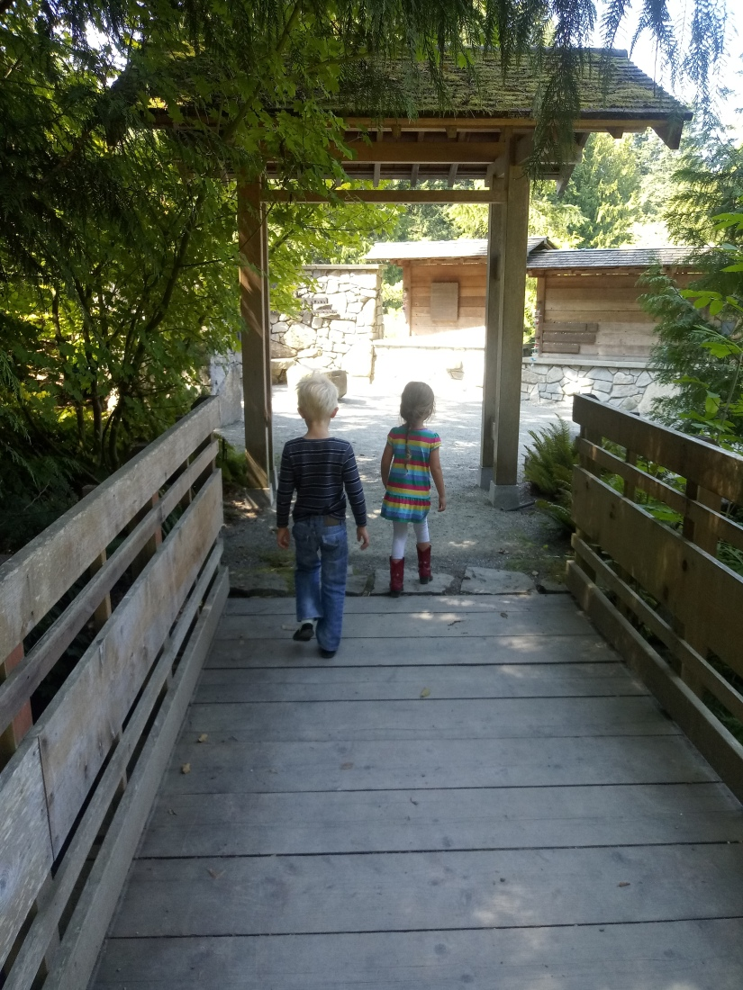 Japanese memorial entrance