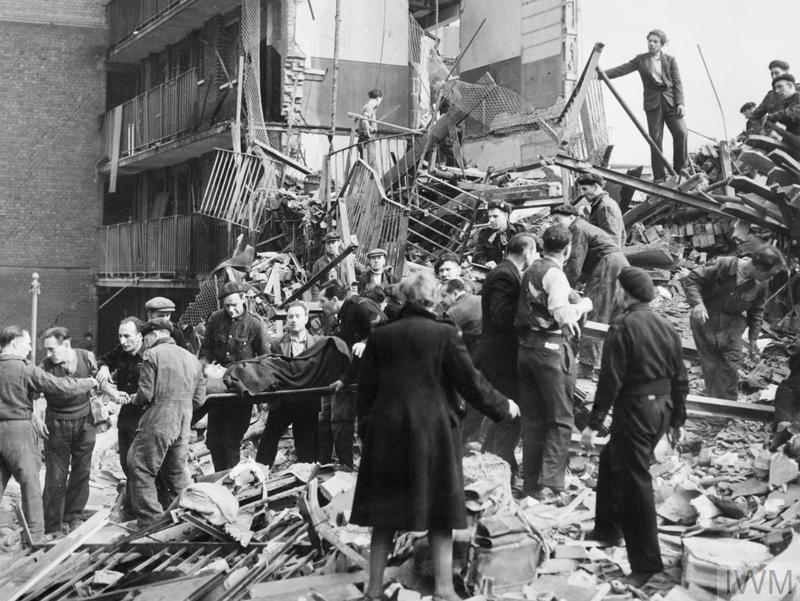 Battle of Britain bomb damage